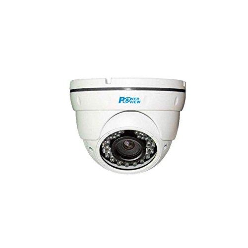 Cámara CCTV híbrida Sinis HD 1080P,2MP TVI/CVI/AHD/CVBS 4 en 1, Lente varifocal 2.8-12mm, 36 IR LED, IR Cut,Interior/Exterior Cámara de Seguridad de vigilancia -Salida TVI