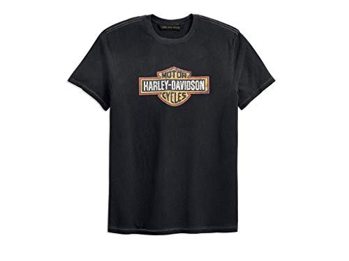 Harley Davidson T-Shirt Crackle Logo, XL