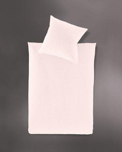 Jersey Bettwäsche IRISETTE «Lumen 8129» puder Nackenkissen 40 x 40 cm