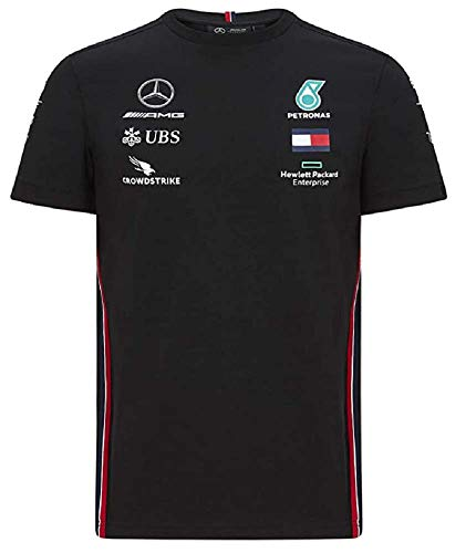 Fuel For Fans Herren Formel 1 Mercedes-AMG Petronas 2020 Team T-Shirt, Schwarz, XXL
