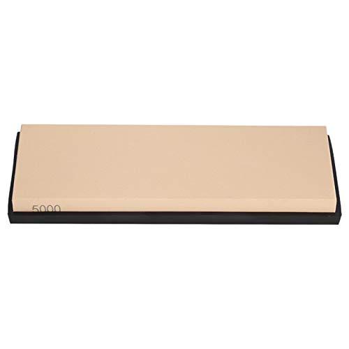 Piedra de afilar piedra de afilar 5000# piedra de afilar de rejilla para cuchillos de cocina, tijeras, picadora(yellow)
