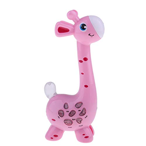 IPOTCH Toddlers And Mp3 Player Kids Microphone Music Karaoke Jouets, Audio, Chansons, Faits & Enregistrement Vocal - rose
