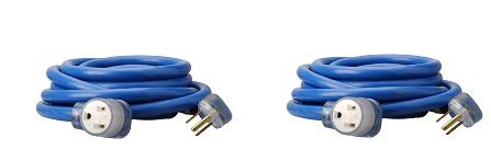 Southwire 25 Ft STW Weather Resistant Electrical Extension Service Cord (2 Pack)