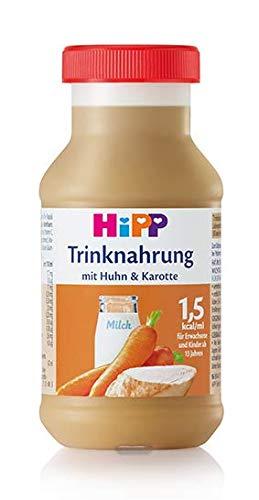 HIPP Trinknahrung, Huhn & Karotte, 200 ml - 6 Flaschen