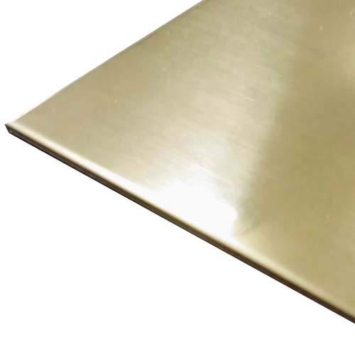 TETSUKO C2801P 真鍮板 0.2mm 100×600 100枚組(業務用・大型サイズ)