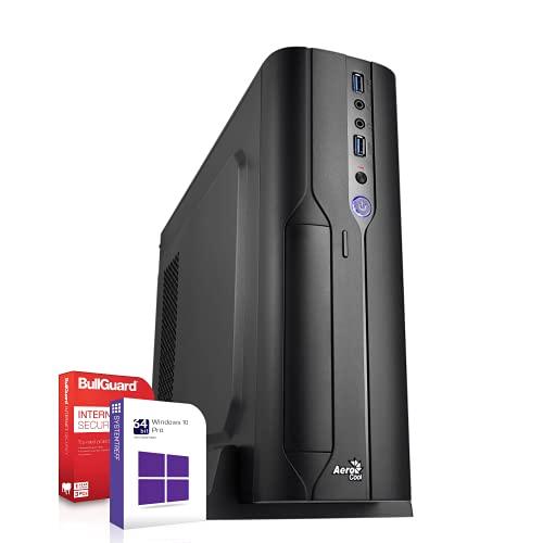 Mini PC Office/Multimedia inkl. Windows 10 Pro 64-Bit - AMD Quad-Core A10-9700 4X 3.8GHz Turbo - 8GB DDR4 RAM - 256GB SSD - Radeon HD R7000 mit 4GB HyperMemory 10xCore APU