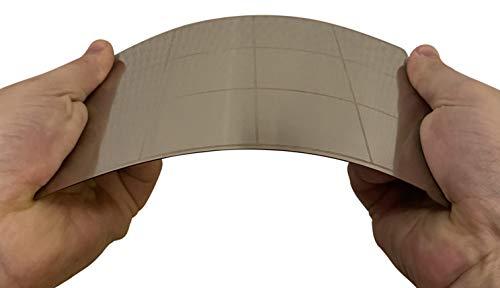 3DPLady - Magnetische flexible Federstahlblech Druckbettauflage für Resin 3D Drucker Epax X1 / Anycubic Photon Mono (130x80mm)