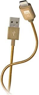 Case Logic Charger Cable for iPhone, 6 ft, Golden