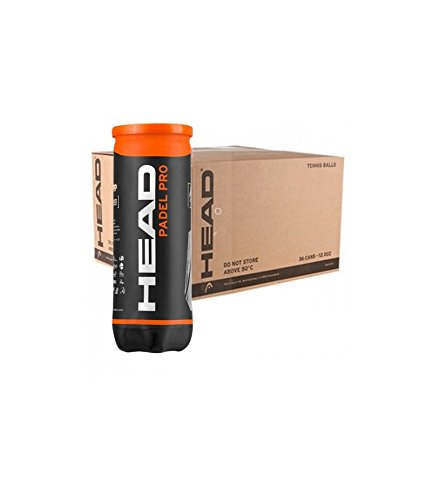 Head Pro Caja de cartón de Padel 24 Tubos 3 Bolas