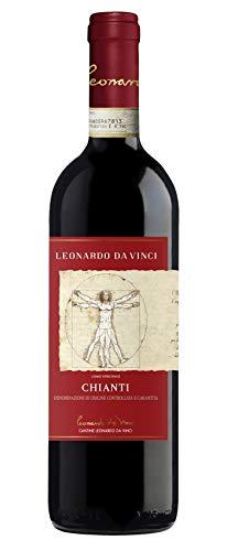 6x 0,75l - 2018er - Cantine Leonardo da Vinci - Chianti D.O.C.G. - Toscana - Italien - Rotwein trocken