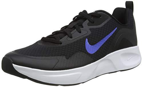 Nike WEARALLDAY, Zapatillas para Correr Hombre, Black Game Royal White, 43 EU