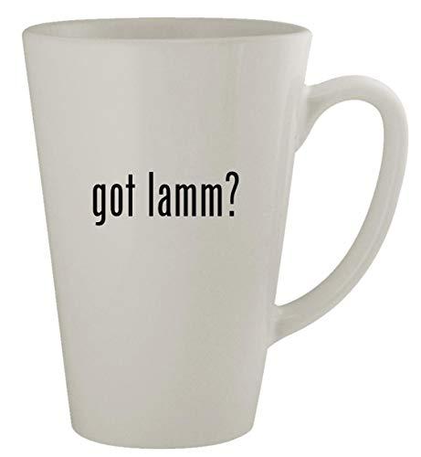 got lamm? - 17oz Latte Coffee Mug Cup