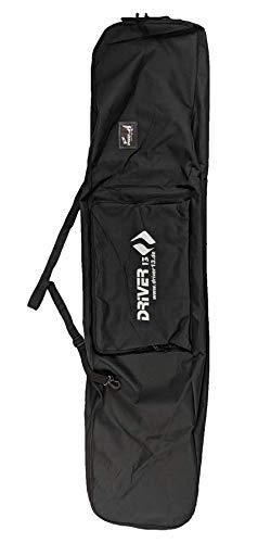 Driver13 ® Snowboard Tasche Boardbag Snowboard Bag schwarz 178 cm