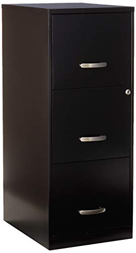 Lorell SOHO 18'D 3-Drawer Letter-Size Vertical File...