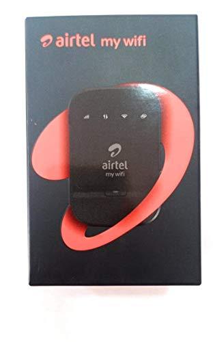 Micro Hitech 4G Hotspot Portable WiFi Data Card with 2300 mAh Battery (Black)