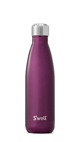 S'well Vacuum Insulated Stainless Steel Water Bottle, 17 oz, Sangria