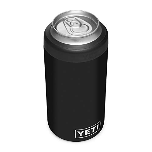 YETI Rambler 16 oz. Colster Tall Can Insulator for Tallboys & 16 oz. Cans, Black