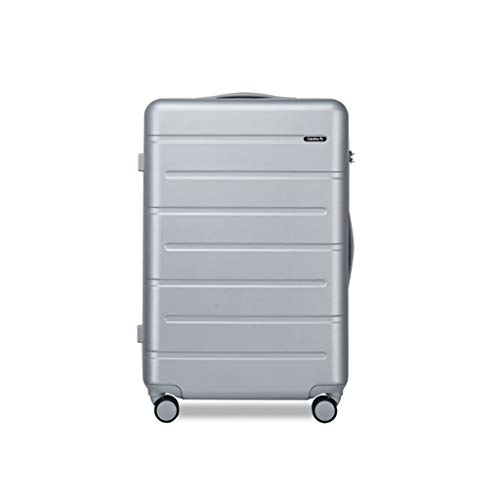 DKH-Suitcases Light Grey Luggage Sets Suitcases Carry-Ons Bag Wheels Lightweight Travel Withcase Suitcaseshand