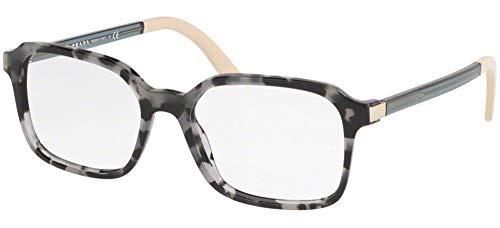 Prada 0PR 03XV Monturas de gafas, Grey Havana, 53 para Mujer