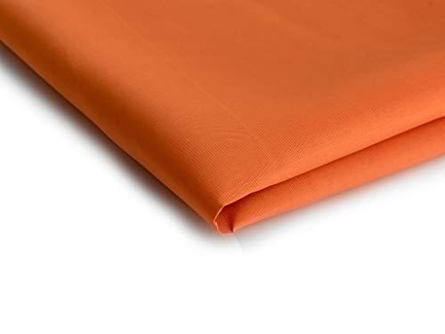 Tela de Forro - Disponible en una variedad de colores - 50 x 150 cm (Naranja Nr.13)