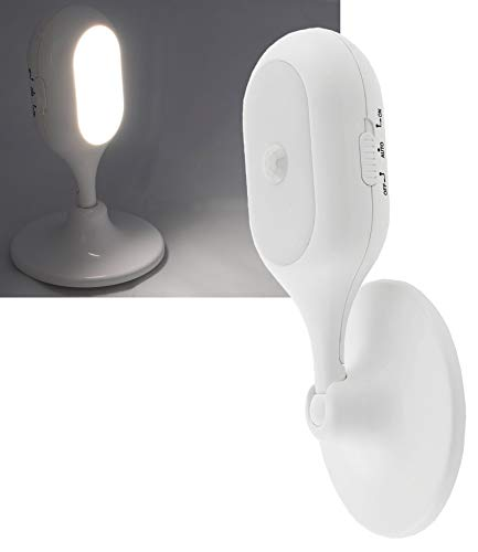 ChiliTec Wall Light with Motion Sensor 360° Rotatable 90° Tiltable Battery 3x AAA Twilight Switch Wall Mount Battery Light with Sensor