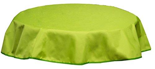 Beo Outdoor tafelkleden waterafstotend, rond, diameter 160 cm, lichtgroen