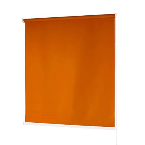 Estores Baratos Enrollables · Estores para Ventanas en Tela de Poliéster · Stores Ventanas con Mecanismo y Cadena en PVC · Color Magenta · Medidas (100x180 cm)