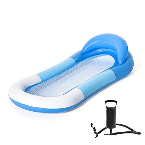 FYRMMD Recliner del agua sola fila flotante, más grueso cojín de agua de la cama flotante inflable portátil, para las herramientas del agua de los adolescentes
