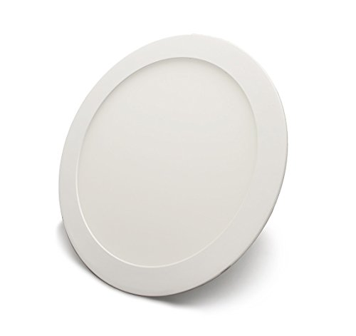 LED Round Panel 18W Power, with Flush-Mounted, Warm, White 22.5 CM CM-Type: ECONOMY UR18225, warm white 18|wattsW [Energy Class A+]