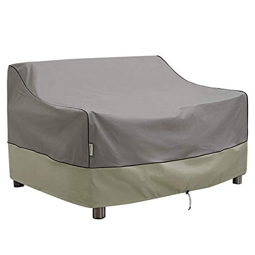 KylinLucky Outdoor Furniture Covers Waterproof - Patio Loveseat Sofa Covers Fits up to 66W x 34D x 38H inches