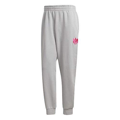 adidas Herren 3D Tref Swtpant Jogginghose, Grey Two/Shock Pink, M