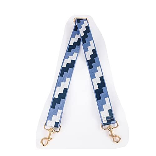 MINGYUYUYY Manija Bolsa Correa Tetris 135cm Ajuste for Mujeres extraíbles Bricolaje Accesorios de Bolso de Hombros Correas de Bolsa de Nylon de Cuerpo Cruzado#d (Color : 5)