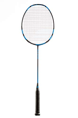 Babolat Pulsar Badminton Schläger Allround Racket blau/schwarz besaitet | 100{1f2e103aad96f75853da74a94afe0c9fa5bea386e10a0ce031e07764e30f6a4b} Graphit