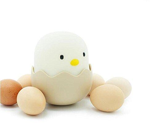 Elegance Z ei-kippenschelp licht emotie nachtlampje touch schakelaar kleine ei-schelp USB glas nachtlampje intelligent voor kinderen
