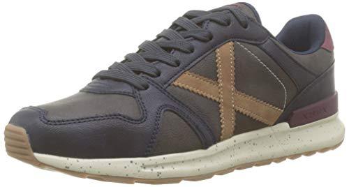 Munich Alpha 33, Zapatillas de Deporte Mujer, Azul (Marino 033), 43 EU