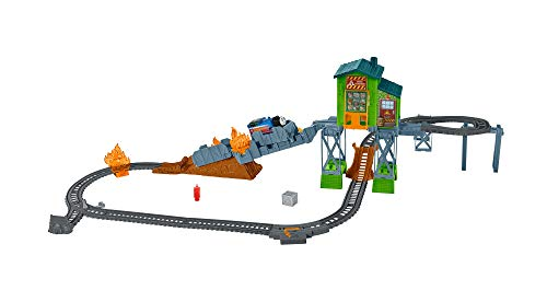 Fisher-Price Thomas & Friends TrackMaster, Fiery Rescue Set, FBK47