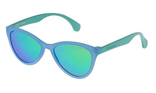 Police SPL08654715V Gafas de sol, Azul, 65 para Hombre