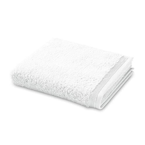 MÖVE PROTECT & CARE Handtuch mit antibakterieller Ausrüstung 50 x 100 cm, Handtuch – Made in Germany, 100% Baumwolle, Snow (Weiß)