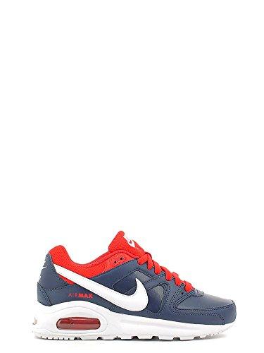 Nike Air Max Command Flex LTR GS, Scarpe da Running Bambino, Blu Bianco Rosso Midnight Navy White University Red, 37.5 EU
