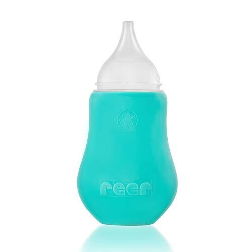 reer 79112 Nasen-Sauger Soft&Clean, weiche Spitze, besonders kindersicher, weiß