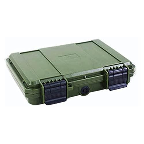 Caja de herramientas de servicio Caja de herramientas de plástico duro sellada a prueba de choques Caja de herramientas a prueba de agua con caja de herramientas con cierre de espuma precortada organi