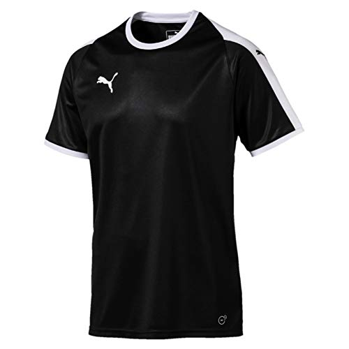 PUMA Erwachsene Liga Jersey, Puma schwarz(Puma Black / Puma White), L