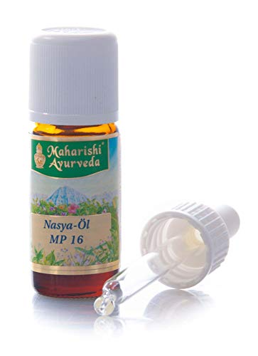 Maharishi Ayurveda Nasya-Öl, 10 ml, Ayurvedisches Nasenöl-Kräuteröl für die Nasenhaut