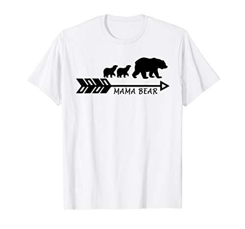 Mama Bear Matching Family Plus Size Mom T-Shirt