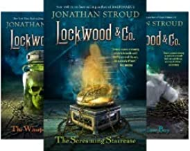 Stroud's 5-book series LOCKWOOD & CO -- Screaming Staircase / Whispering Skull / Hollow Boy / Creeping Shadow / Empty Grave