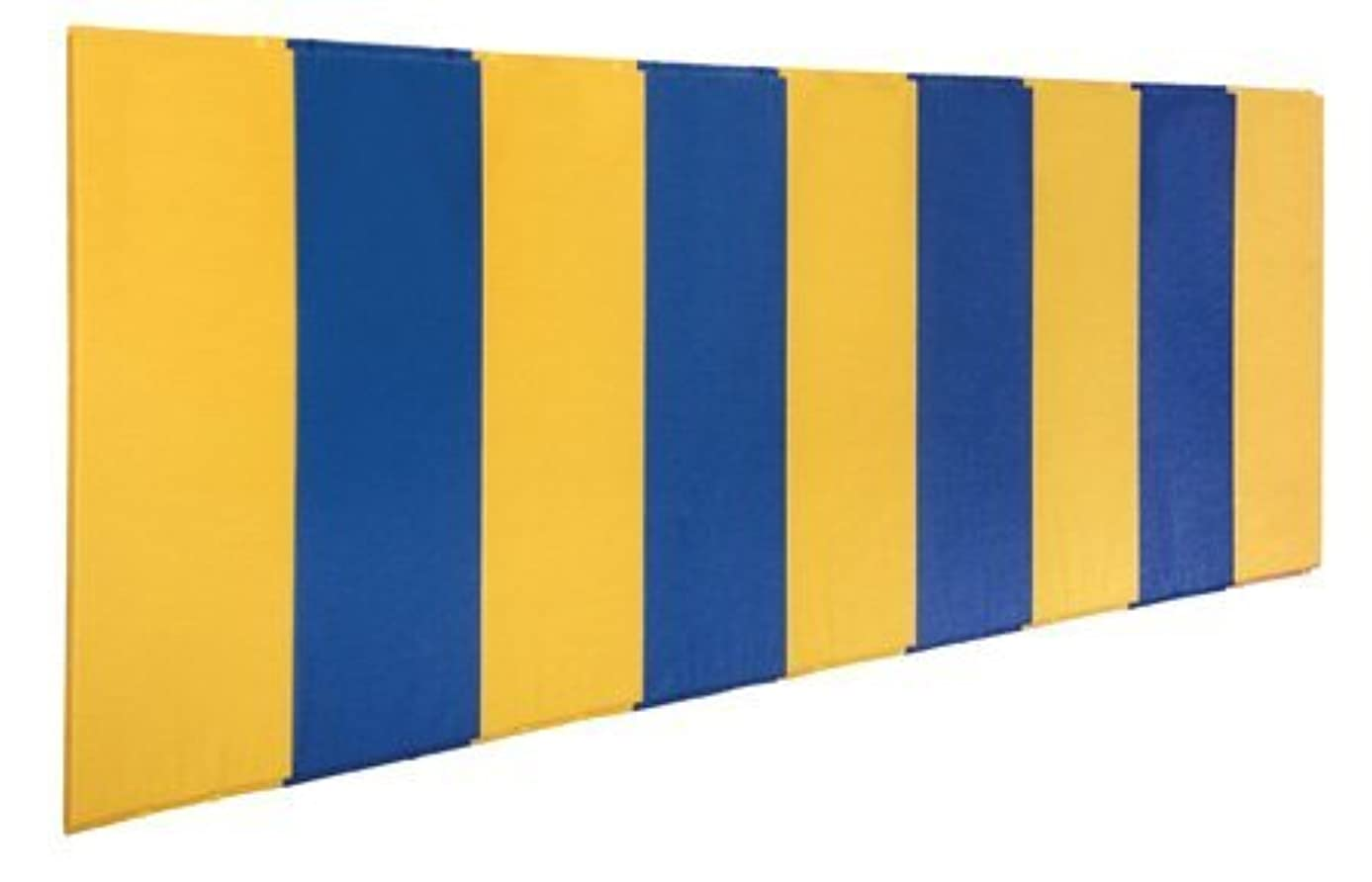 First Team FT456-FO Foam-Vinyl 2 X 6 ft. BodyGuard Wall Pad with Foam Only44; Navy Blue