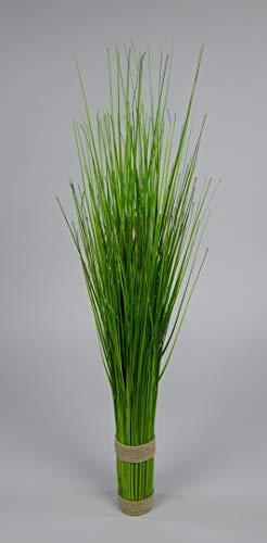 Seidenblumen Roß Grasbund 60cm grün DP Dekogras künstliches Gras Kunstpflanzen Kunstgras künstliche Pflanzen Ziergras