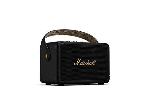 Marshall Kilburn II Enceinte Bluetooth Portatif - Black & Brass