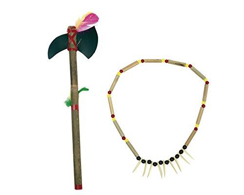 Viving Costumes Viving Costumes201511 Indien Collier et Spear (39 cm)