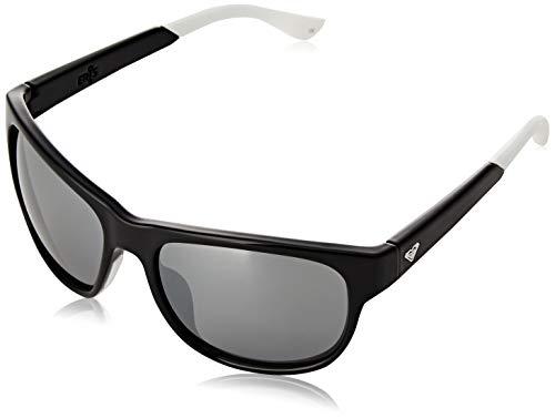 Roxy Eris-Gafas De Sol para Mujer, Black/Black/Blue-Combo, 1SZ